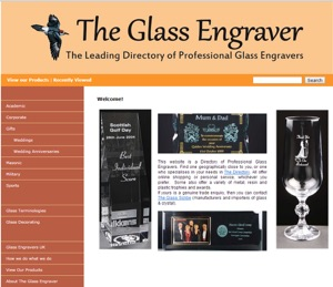Directory of UK Glass Engravers